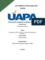 Tarea III de Educacion a Distancia