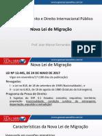 Lei de migração