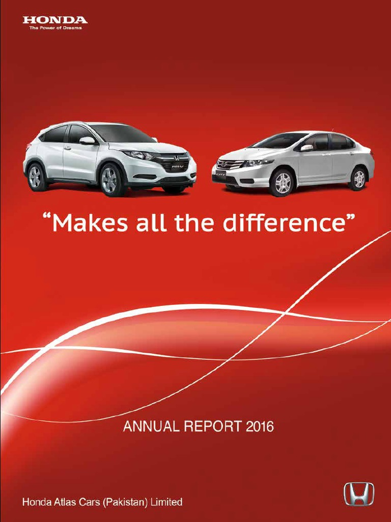 Annual Report 2016 Honda Financial Statement