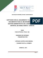 Esau Manuel Arteaga Castro - Control de Documentos Mejoramiento de Gestion