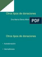 D.otros Tipos de Donaciones