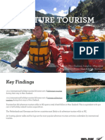 nz adventure tourism - research report