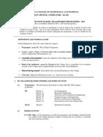 2013 Curriculum and Syllabus