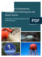 All-hazard Consequence Management Planning for Water Sector - Preparedness, Emergency Response, And Recovery (CIPAC 2009)