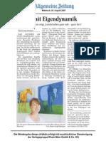 Ebernburg Eigendynamik 2007