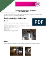 Instructivo Impresora y Lectora Mozilla