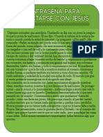 Contraseña Para Conectarse Con Jesús
