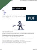 Packet Analyzer_ 15 TCPDUMP Command Examples