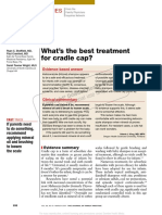 What Treatment Cradle Cap