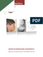 Ortodoncia I. Segundo Curso. Segundo Semestre