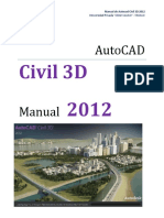 Manual de Autocad Civil 3D 2012