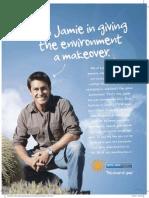 Jamie Durie Testimonial Ad