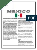 Cuadro Comparativo de Mexico Ecuador y Costa Rica