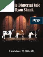 Ryan Shank Dispersal Sale