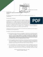 Cargo Carta Presidente Congreso - PL 1250-2016-CR Febrero 2018