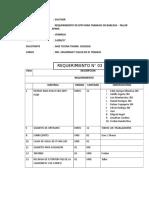 Requerimiento EPPs. Seguriada. 14 Sep