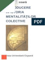 Introducere in Istoria Mentalitatilor Colective