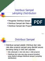 9a-Distribusi Sampling Dan CLT (Sesi 6)