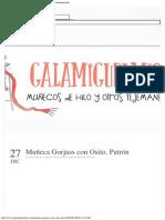 Galamigurumis Muñeca Gorjuss con Osito. Patrón - Galamigurumis.pdf