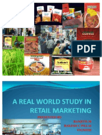 Report of Retailing Marketing