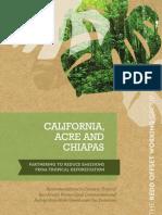 California-Acre-Chiapas - ROW Final Recommendations