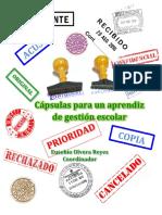 Libro Cápsulas para un aprendiz de gestión escolar. Eusebio Olvera (coordinador)