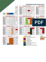 Kalender Pendd 2016 2017