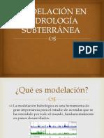 Modelación en Hidrología Subterránea