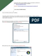 39015-Tutorial Windows 7 Area Trabalho Remota