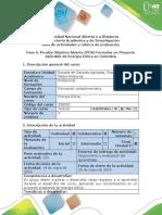 Guía de Actividades y Rubrica de Evaluación - Fase 6 - Prueba Objetiva Abierta