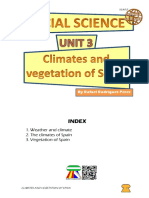 Student's Booklet - Climates and Vegetation of Spain