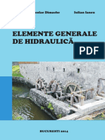 Elemente Generale de Hidraulica