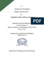 Mba Trading Capital