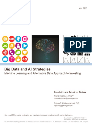 JPM | Machine Learning | Big Data