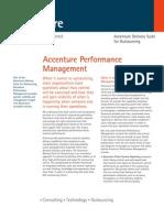 accenture PerformanceManagement