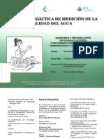 Muestreo y Preservación de Grasas y Aceites y Toma de Ph y Materia Flotante en Campo