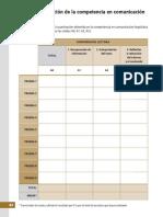 Autoevaluación de La Competencia en Comunicación Lingüística - Analiza Tus Competencias 1