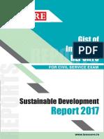 Sustainable Development Report 2017