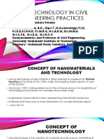 Nanotechnology in Civil Engineering Practices