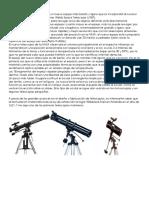 Avances Tecnológicos de Telescopio