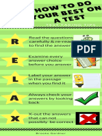 how to do yourbest on a test