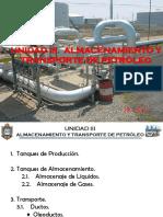 Almacenamiento y Transporte de Petróleo