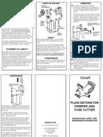 Crimper Instructions