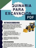 Maquina Para Excavacion Diapositiva