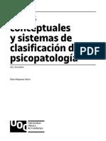 CLASSIFICACION PSICOPATOLOGIA