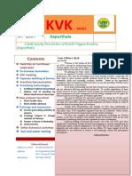 KVK Kapurthala's Newsletter