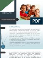 Educação de Filhos Superando o Desafio.