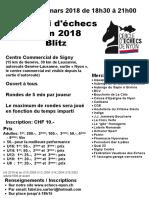 Signy 2018, tournoi du vendredi 2 mars