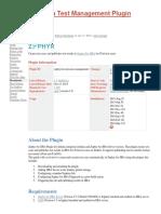Zephyr for Jira Test Management Plugin