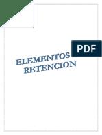 Elementos de Retencion